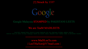 googlehacked